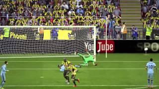 FIFA 15 kyle walker stunner