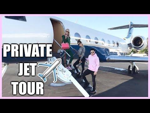 PRIVATE JET TOUR | BORA BORA 2017 LAURA LEE VLOGS