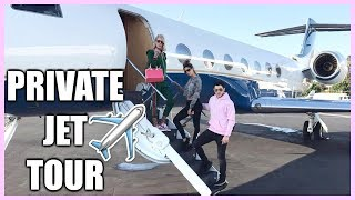 PRIVATE JET TOUR | BORA BORA 2017 LAURA LEE VLOGS