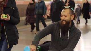Чайная церемония в метро Петербурга. Чайный клуб Процесс и Чайный Воин