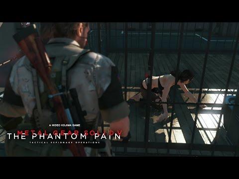 Metal Gear Solid V: The Phantom Pain - Visit Quiet / Визит к Молчунье