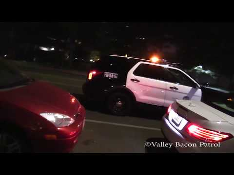 LAPD Code 3 Violent Female With Mental Illness