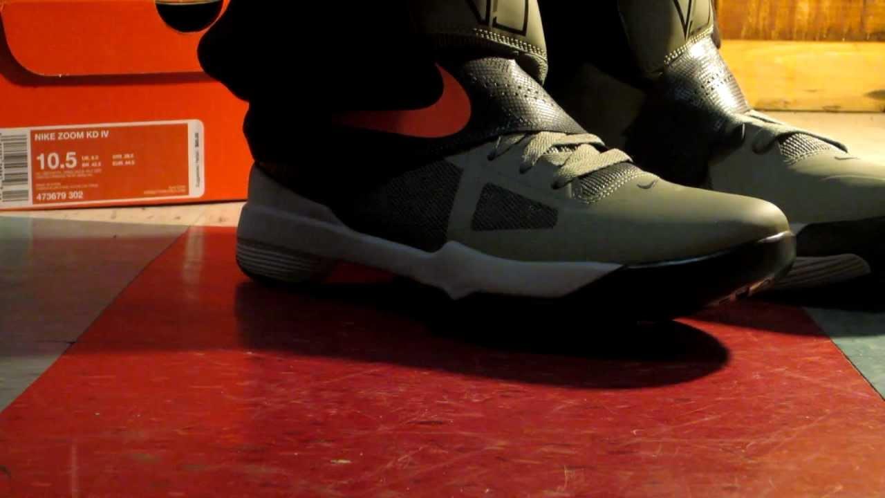 KD IV UNDFTD On Feet ( 1080p ) - YouTubeKd 4 On Feet