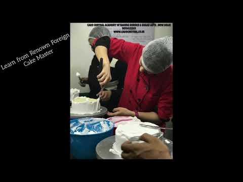 Baking Classes in Delhi | Cake Decoration Classes & Courses in Delhi | Professional Bakery Classes