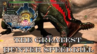 『MH3U | MH3G』[G-Rank★★★] The Greatest Hunter (Speedkill/Two Bow) 10:13