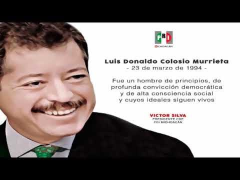Se cumplen 23 años de la muerte de Colosio from YouTube · Duration:  2 minutes 1 seconds