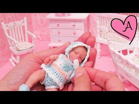 Bebe Reborn De Silicona Miniatura Baby Gigi Muñecas Y Juguetes
