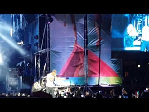 Enrique Iglesias - El Perdón Live ft Nicky Jam @ Aruba Summer Music Festival 2016 by Rex