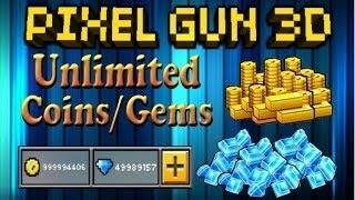 Взлом Pixel gun 3d с мультиплеером 100%
