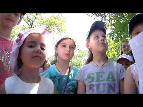 Запорожская епархия: Детский крестный ход и слет воскресных школ