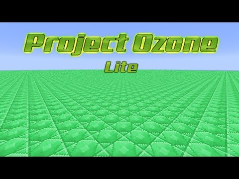Project Ozone Lite - EMERALD WORLD [E51] (HermitCraft Server Modded Minecraft Sky Block)