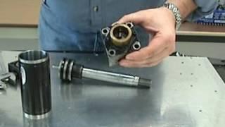 Hydraulique - Inspection d'un vérin hydraulique