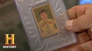 Pawn Stars: Mint Condition 1923 Babe Ruth Baseball Card | History