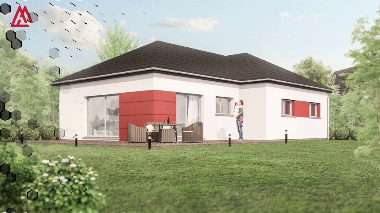 maisons arlogis construction de maison plain pied alsace youtube