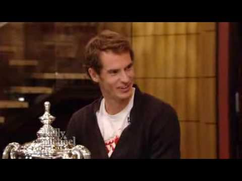 LIVE with Kelly and Michael Andy Murray