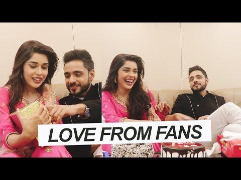 Adnan Khan & Eisha Singh Receive Love From Fans | Ishq Subhan Allah