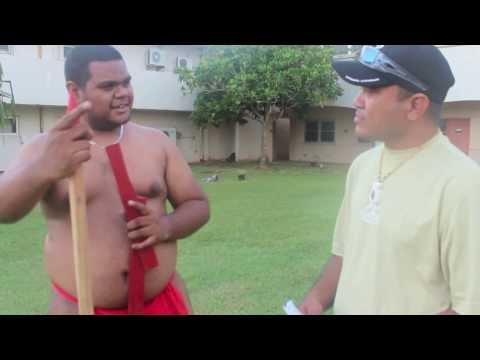 Palauan Male Warrior Dance- University of Guam