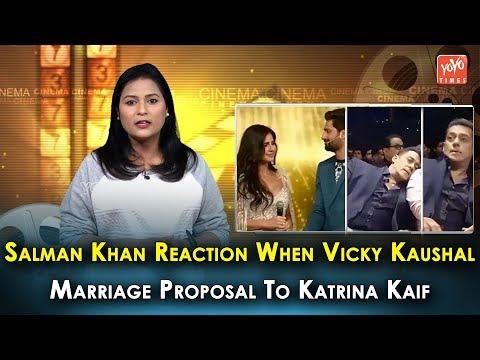 Salman Khan Reaction When Vicky Kaushal Marriage Proposal To Katrina Kaif   Arpita Khan   YOYO Times Mp3