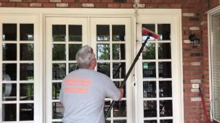 How to Clean French Pane Windows