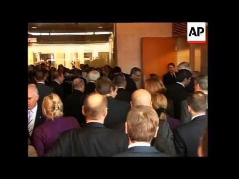 WRAP Livni meets EU troika, photo op, Sarkozy meets Mubarak ADDS bites