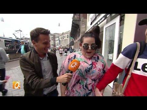 Songfestival winnares Netta gespot in Amsterdam - RTL BOULEVARD