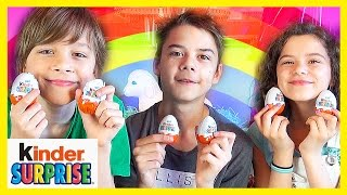 Kinder Surprise Egg Opening! | American Kids Try Irish Sweets! | Blind Bag Ep. 11 |  Kittiesmama