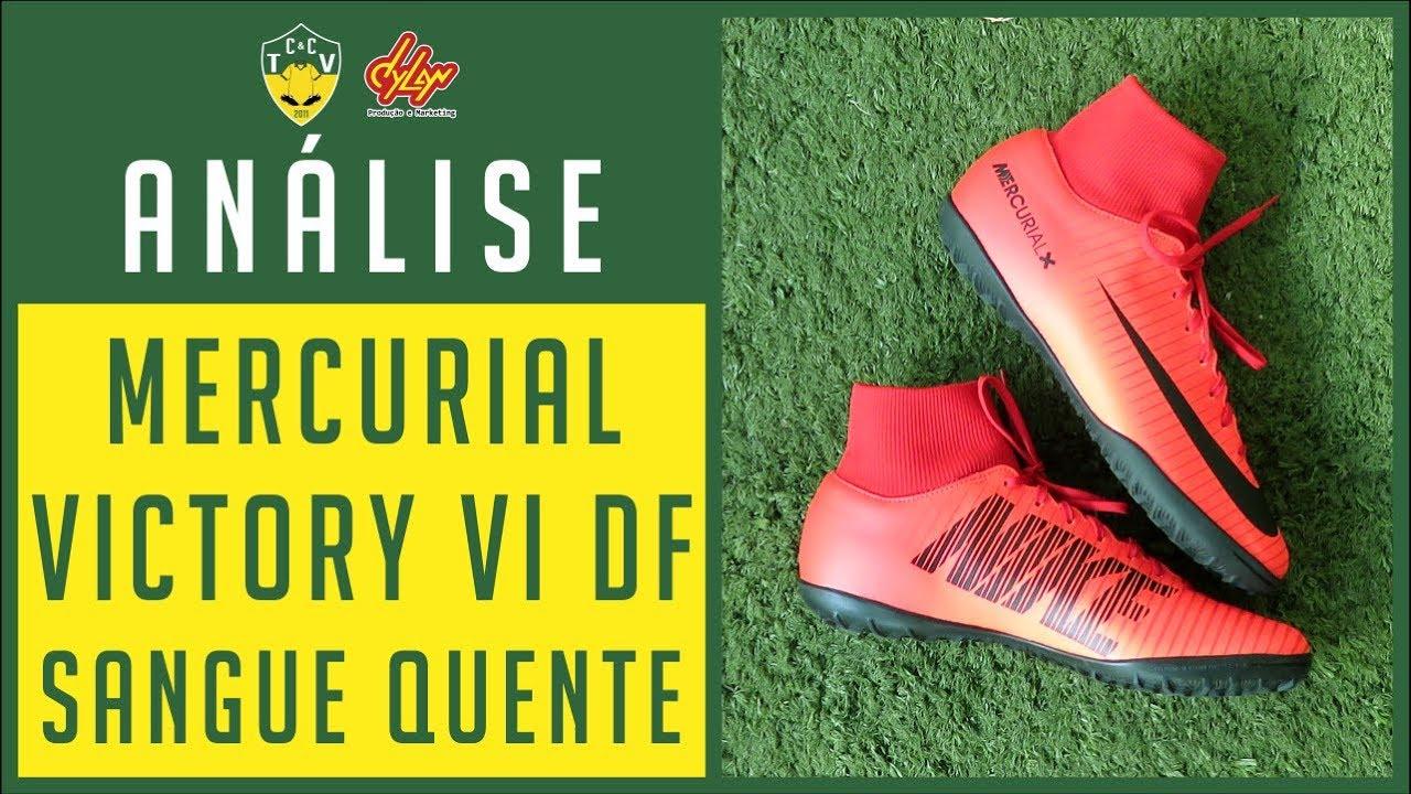 Il miglior posto massimo stile la più grande selezione di CHUTEIRA NIKE MERCURIAL VICTORY VI DF - COLEÇÃO NIKE SANGUE QUENTE ...