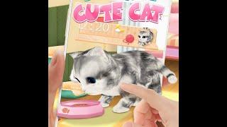 3D Cute Cat Theme