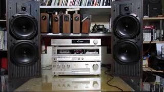 Technics SU-V450 hifi with kef c40 speakers