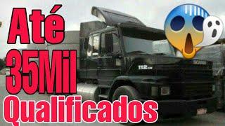 Caminhões qualificados para você comprar hoje ate 35mil reais