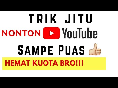 3 trik Ampuh hemat kuota Nonton  video youtube | cara menghemat kuota saat streaming