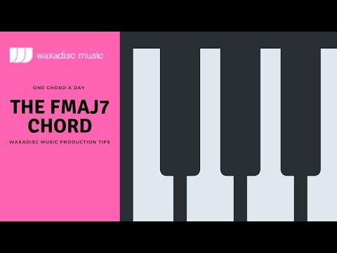 Learn how to play Piano chords for House Garage Jazz Disco Funk Soul The FMAJ7 chord