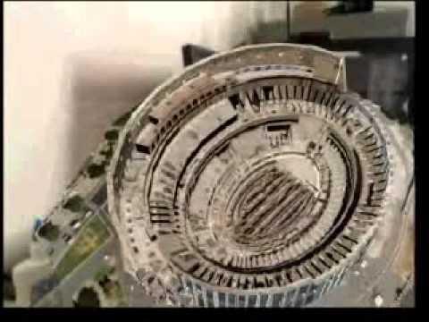 Maquete do Coliseum (Italia-Roma) em Realidade Aumentada