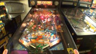 The Adventures of Rocky and Bullwinkle and Friends Pinball Machine by Data East