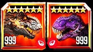 ALPHA 06 BOSS vs OMEGA 09 BOSS (JURASSIC WORLD)