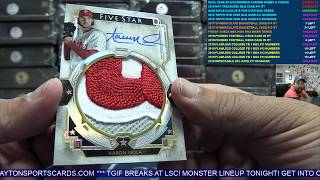Quintuple Case Break - 2018 Topps Five Star Baseball