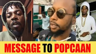 Message To Popcaan,  TR0UBLE Really Deh Deh | Z0Z0 Pass Popcaan