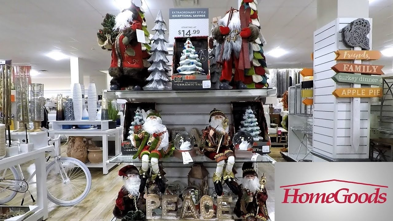 home goods thanksgiving and christmas 2018 decor so far shopping decorations fall home decor. Black Bedroom Furniture Sets. Home Design Ideas