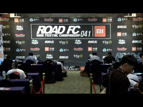 XIAOMI ROAD FC 041 - OFFICIAL WEIGH INS EVENT