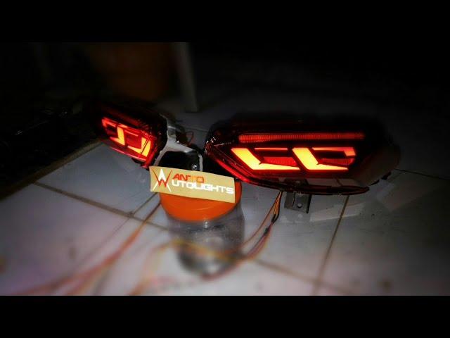 Stoplamp   tail lights   lampu rem Xmax 250