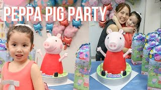 Peppa Pig Birthday Party in School