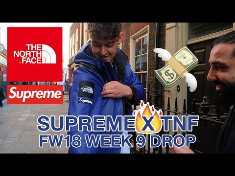 SUPREME X THE NORTH FACE - WEEK 9 IN-STORE PICKUP/REVIEW