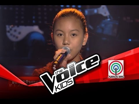 """The Voice Kids Philippines Blind Audition """"If I Ain't Got You"""" by Katherine"""