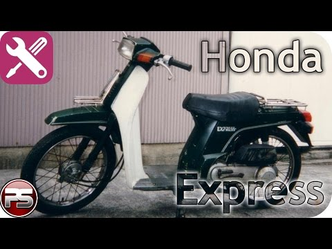 Двигатель Honda Express: как ремонтировать раритет