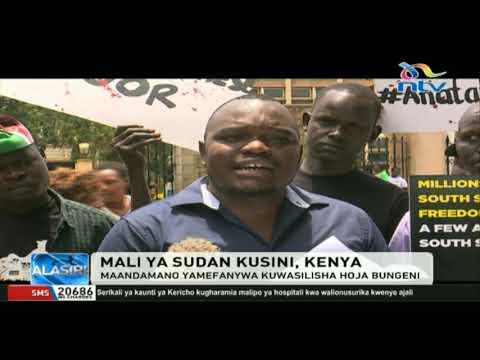 Inadaiwa wananchi waliopora mali Sudan Kusini wanajificha Nairobi