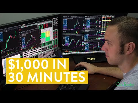 [LIVE] Day Trading | $1,000 in 30 Minutes