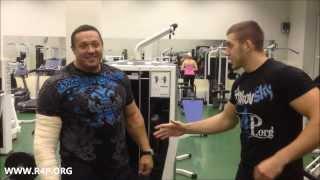 Миша Кокляев: первая тренировка после операции (Misha Koklyaev: first training after surgery)