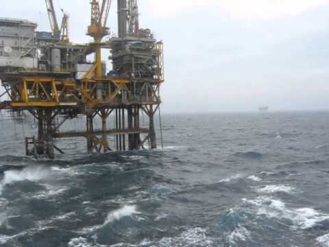 Bad Weather at my Offshore Site in Bay of Bengal