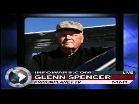 Alex Jones interviews Glenn Spencer-Border Fence Plans Were All About Amnesty - 2 of 2