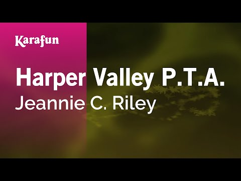 Karaoke Harper Valley P.T.A. - Jeannie C. Riley *